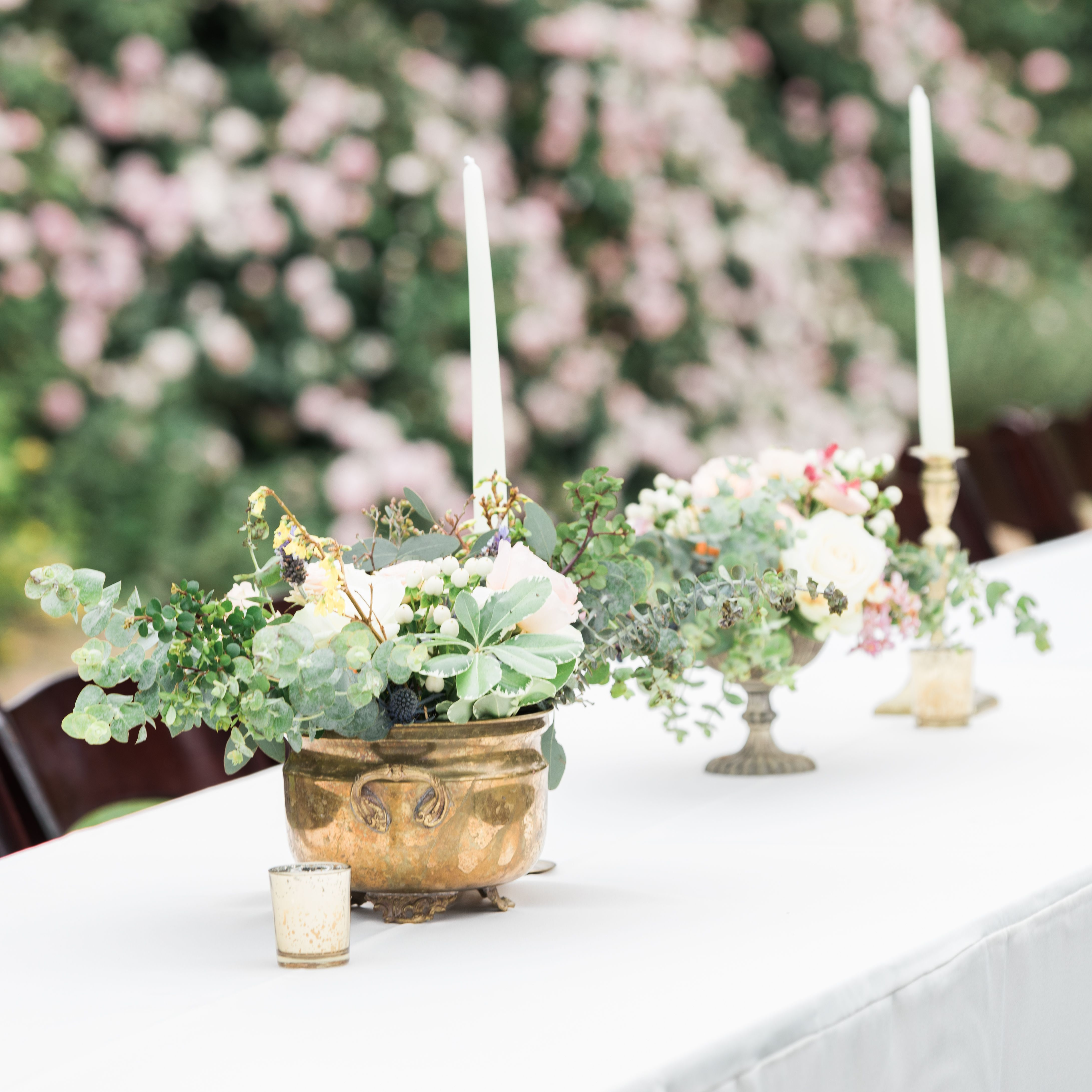 Wedding Ideas With A Difference: Beautiful Floral Arrangements And Centerpieces Make All