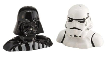 Star Wars Darth Vader and Stormtrooper Salt and Pepper Shakers       Deal of the day >>>   http://amzn.to/24HnsG3