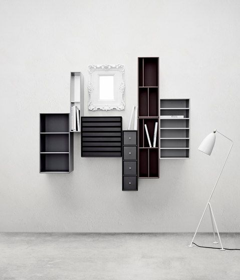 regalsysteme aufbewahrung montana regalmodule montana check it out on architonic. Black Bedroom Furniture Sets. Home Design Ideas