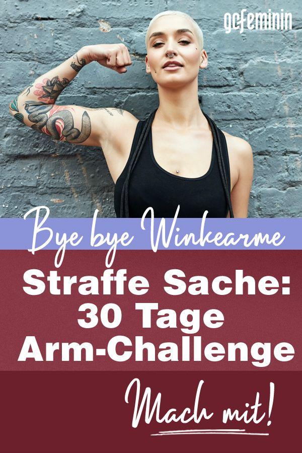 Photo of 30 Tage Arm-Challenge: Sag den schlaffen Winkearmen den Kampf an!