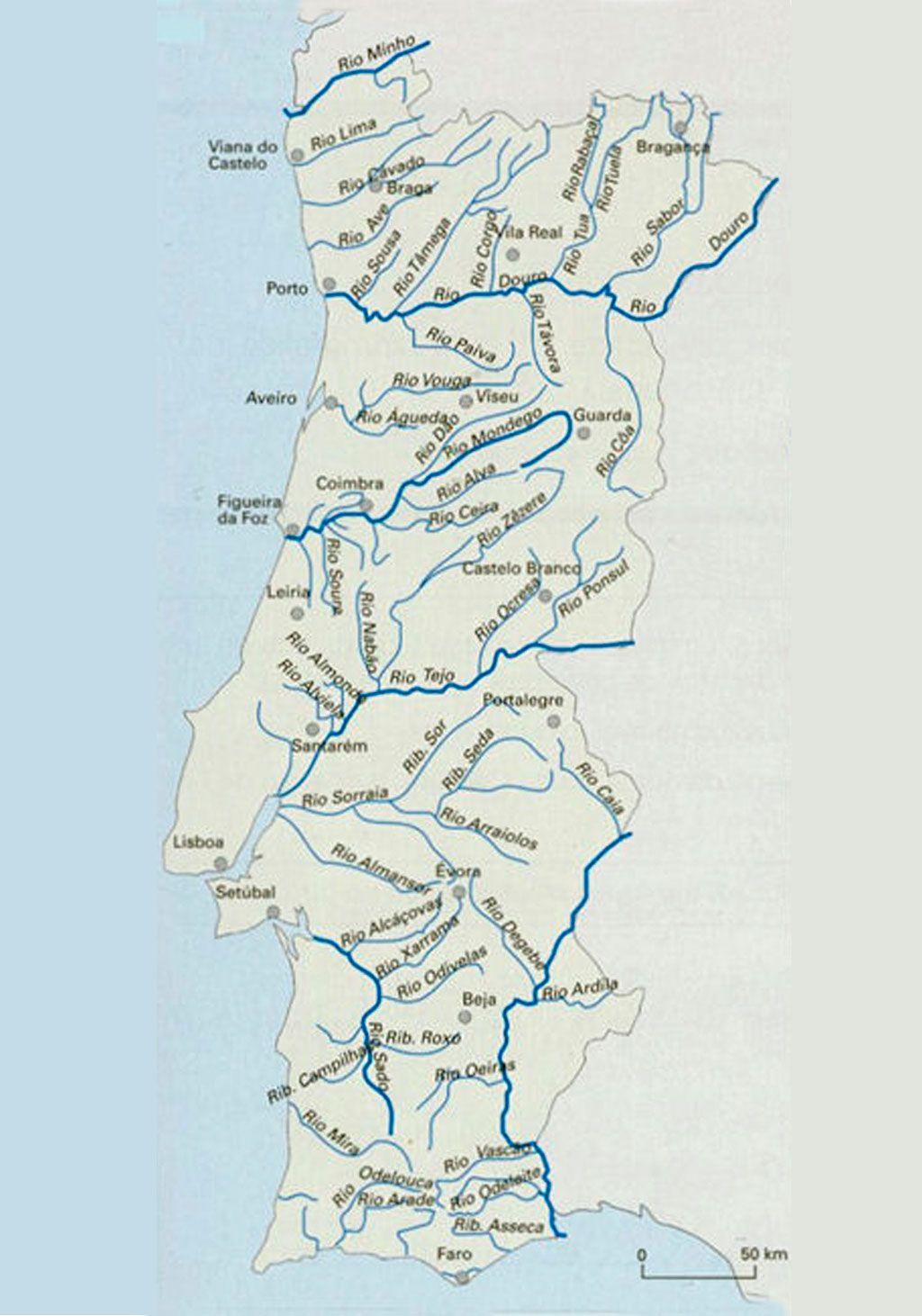 mapa de rios portugal Resultado de imagem para mapa de portugal rios e regiões | AI_4.1  mapa de rios portugal