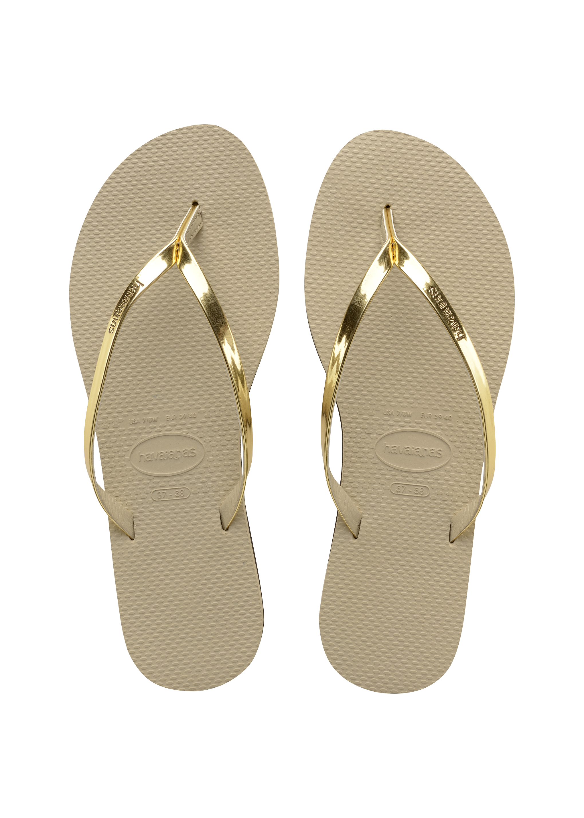 095e8ca6e017d Havaianas You Metallic Sandal Sand Grey Light Gold Price From  50