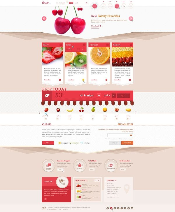 Best psd templates for food recipes websites psdphotoshop best psd templates for food recipes websites forumfinder