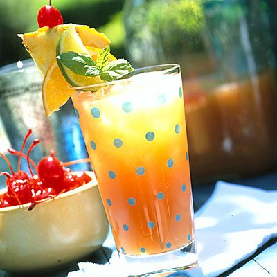 Throw A Tiki Bash Cocktails Punch Recipes Planters