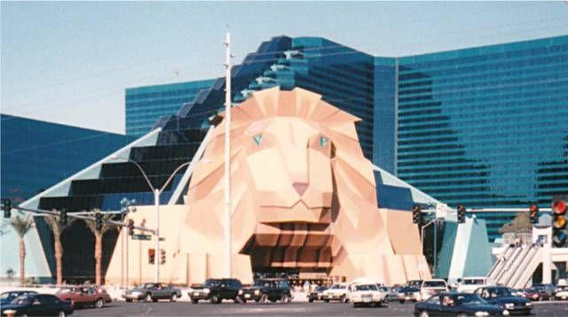 The Old Mgm Lion Mgm Grand Las Vegas Las Vegas Photos Las Vegas