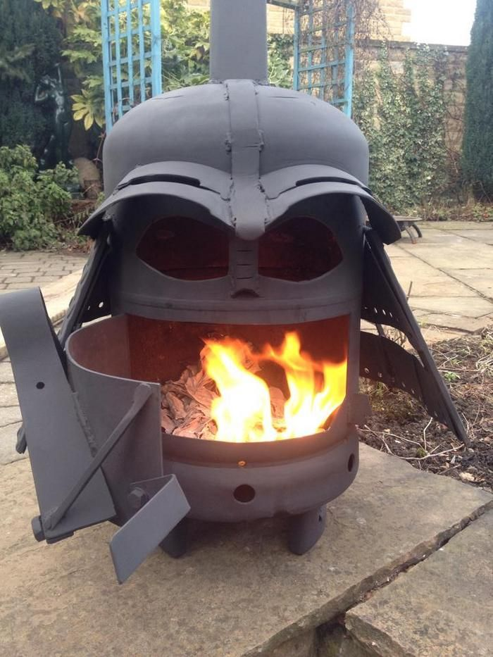 How To Build A Darth Vader Log Burner From A Gas Bottle Mobilier