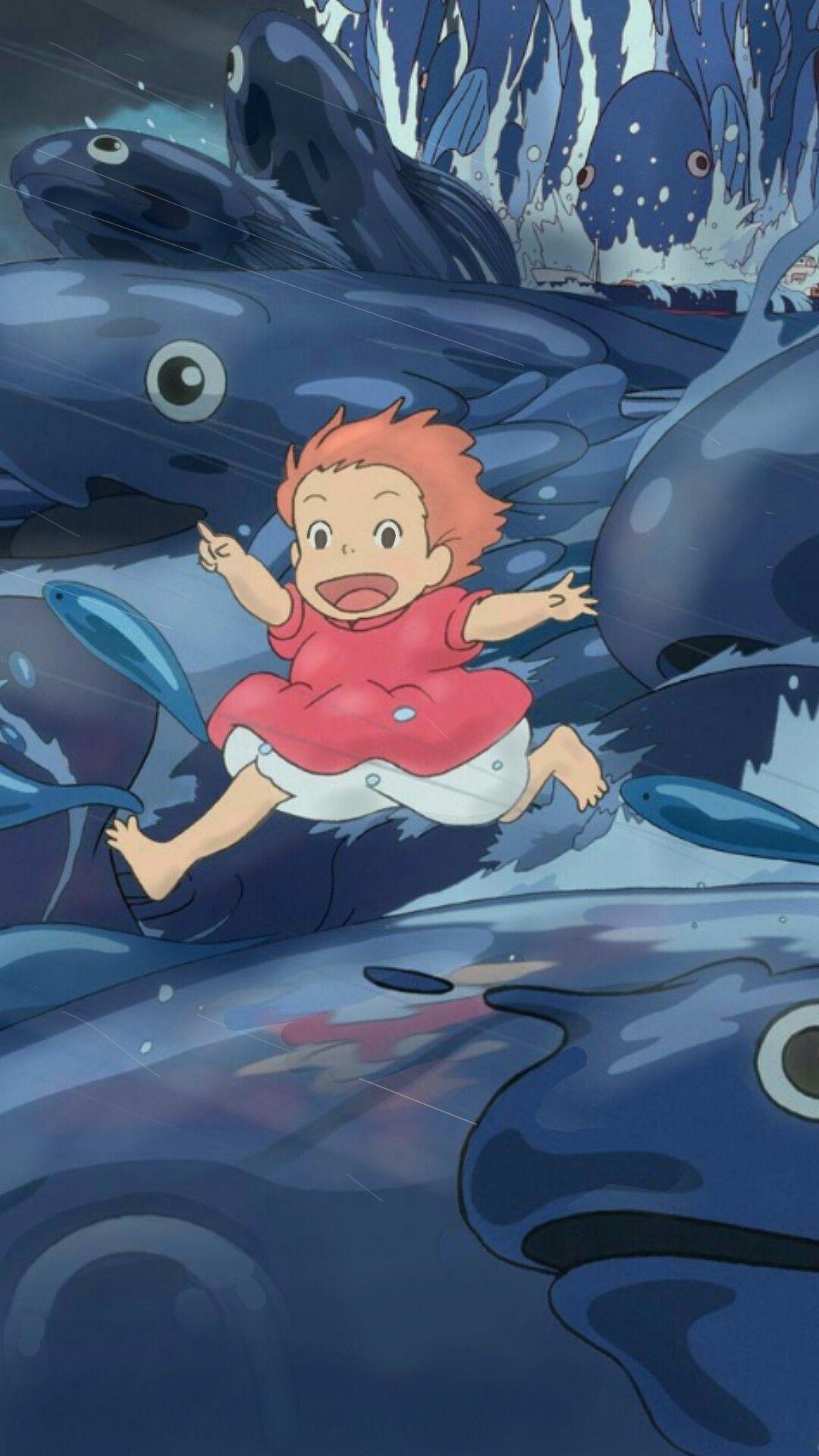 Studio Ghibli Anime Movie Scenery Wallpapers Lockscreens