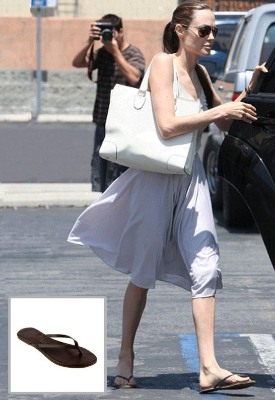 9137752cb Tkees Liner Leather Sandal - as seen on Angelina Jolie