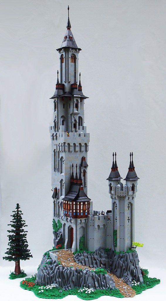 Château Lego Tour Chateau Lego Lego Et Minecraft Château
