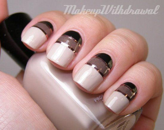 Elegant nail art tutorial page link you could also paint in elegant nail art tutorial page link you could also paint in the opposite prinsesfo Images