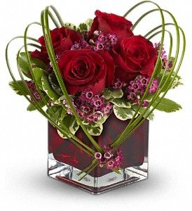 Valentine S Day Floral Arrangement For Beth Pinterest Flowers
