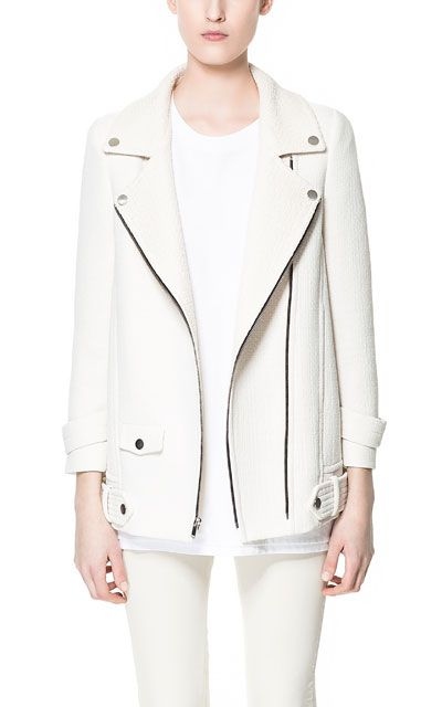 COMBINATION JACKET WITH ZIPS - Blazers - Woman - ZARA United States