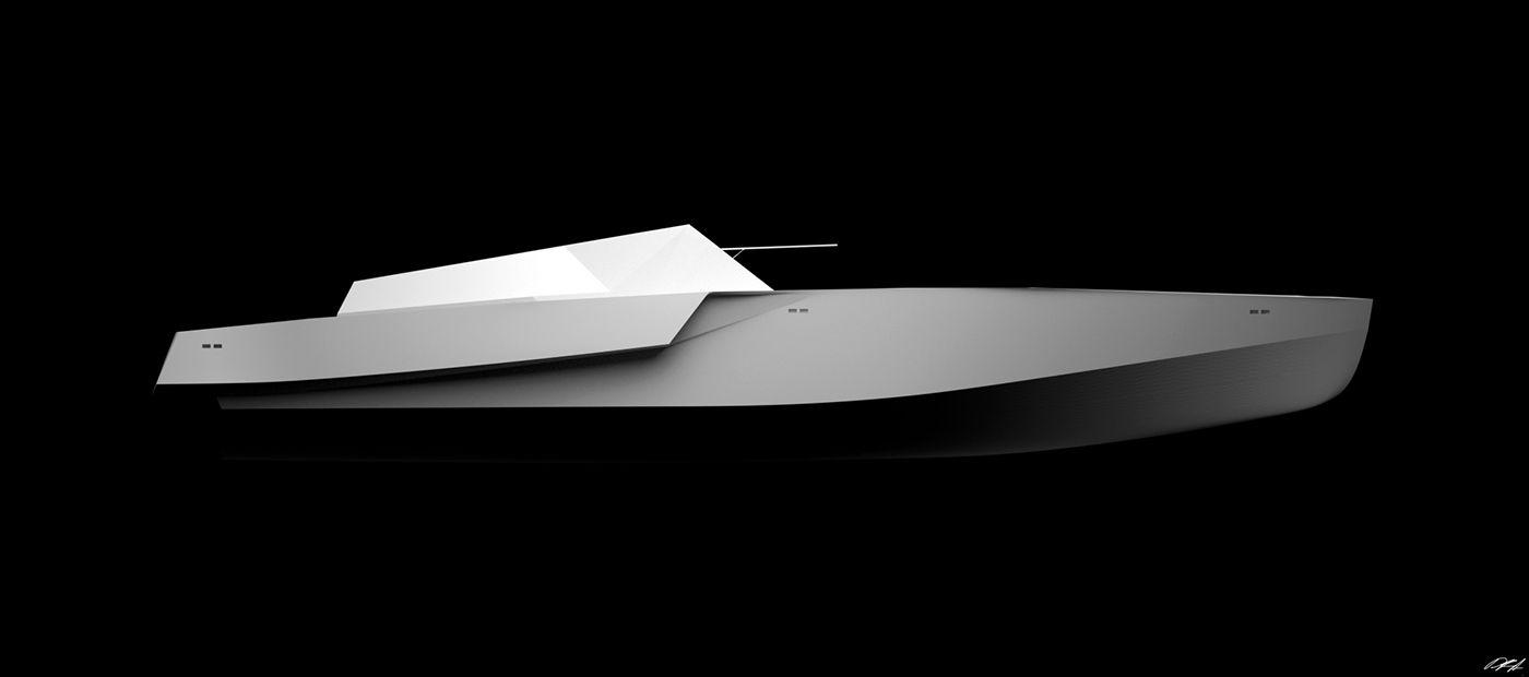VOLVO U.L.L.A Power Boat VOVLO Cars Collaboration with VOLVO Penta ...