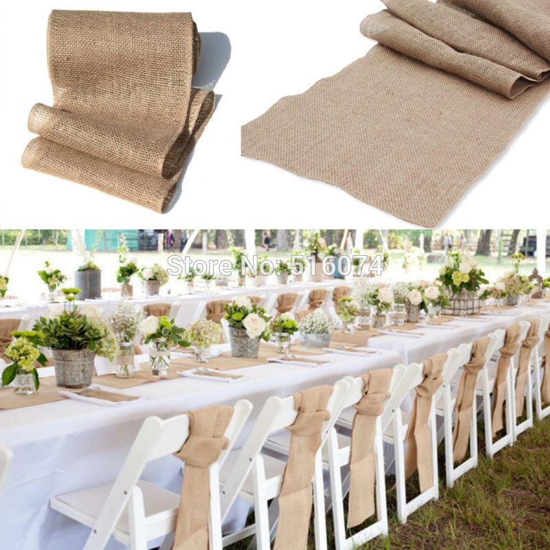 Superieur Hemp Table Runner   Google Search | Wedding Decor | Hessian ...
