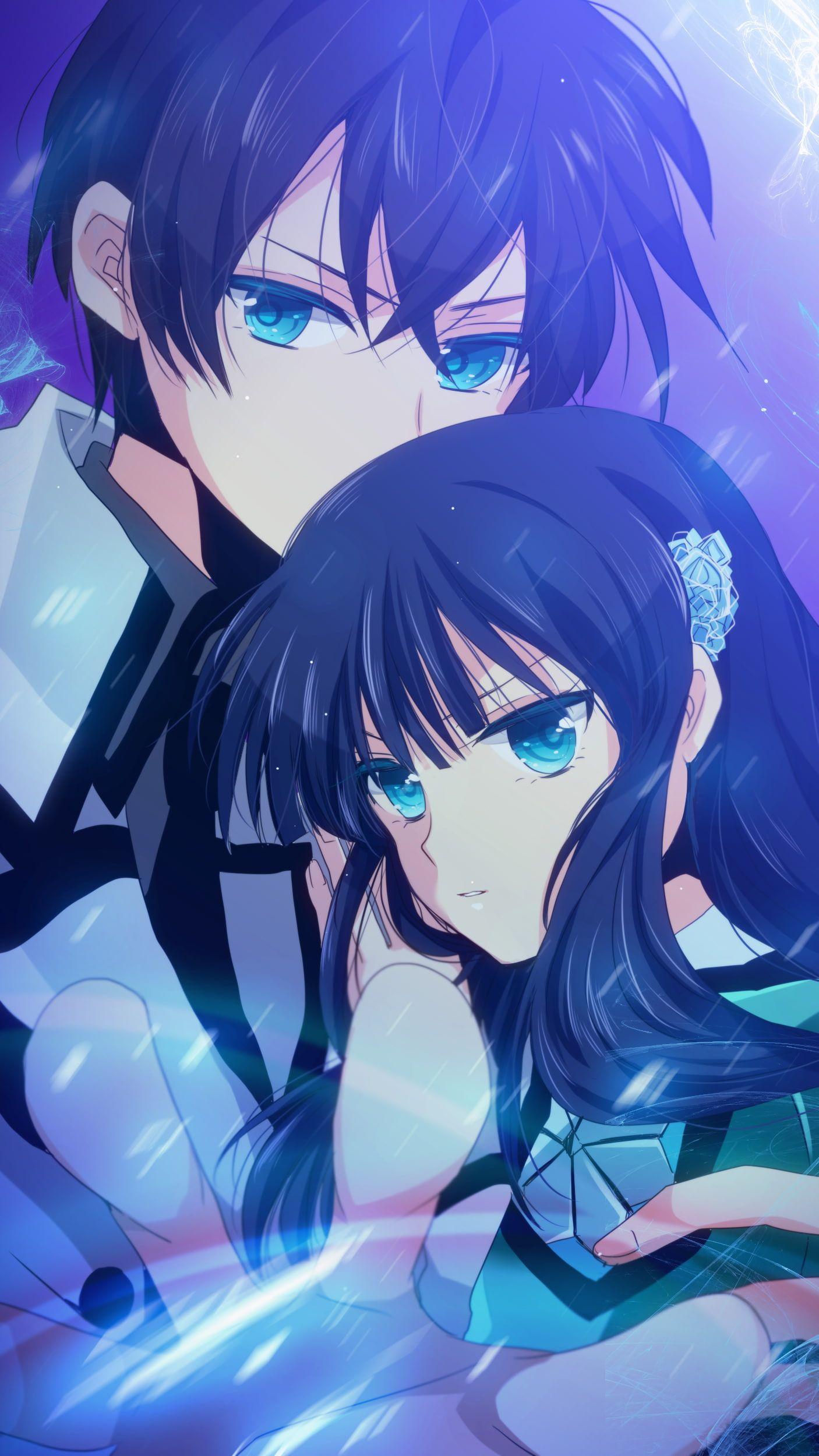 HD wallpaper: anime, Mahouka Koukou no Rettousei, Shiba Tatsuya, Shiba Miyuki