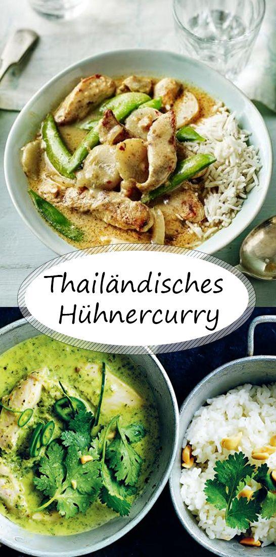 Thai Hühnercurry  #tandoorichicken