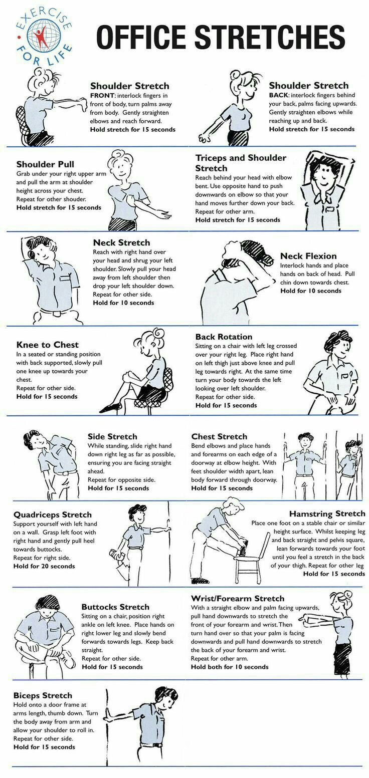 If Your Hamstrings Are Tight You Need These 6 Stretches Office Exercise Employee Wellness Health Fitness