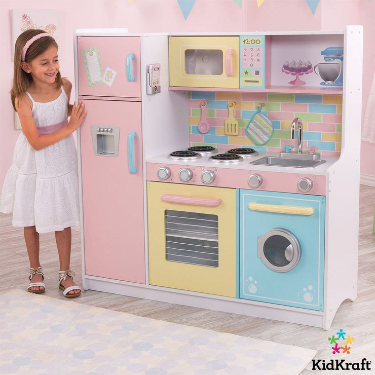 Kidkraft Deluxe Culinary Kitchen 3 Years Costco Toys Baby