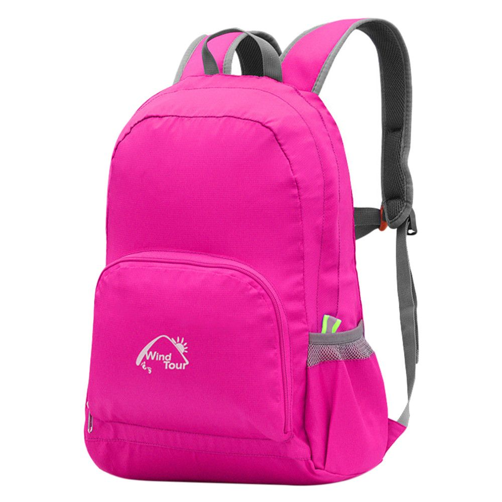 Compact Waterproof  Foldable Backpack  25L Rucksack Travel School Bag Men Women