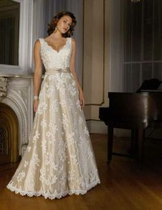 Second Wedding Dress Wedding renewal wedding dress mother of the bride dress  maid of honor dress