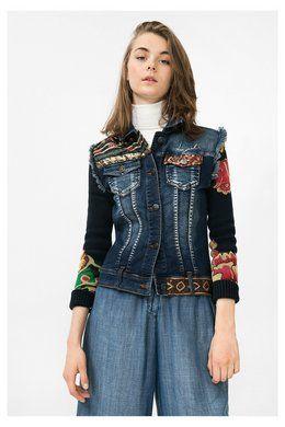 Compra agora os casacãos Desigual mais fixes para mulher, com devolução e envio para a loja grátis. 10% de desconto a partir de 100€!