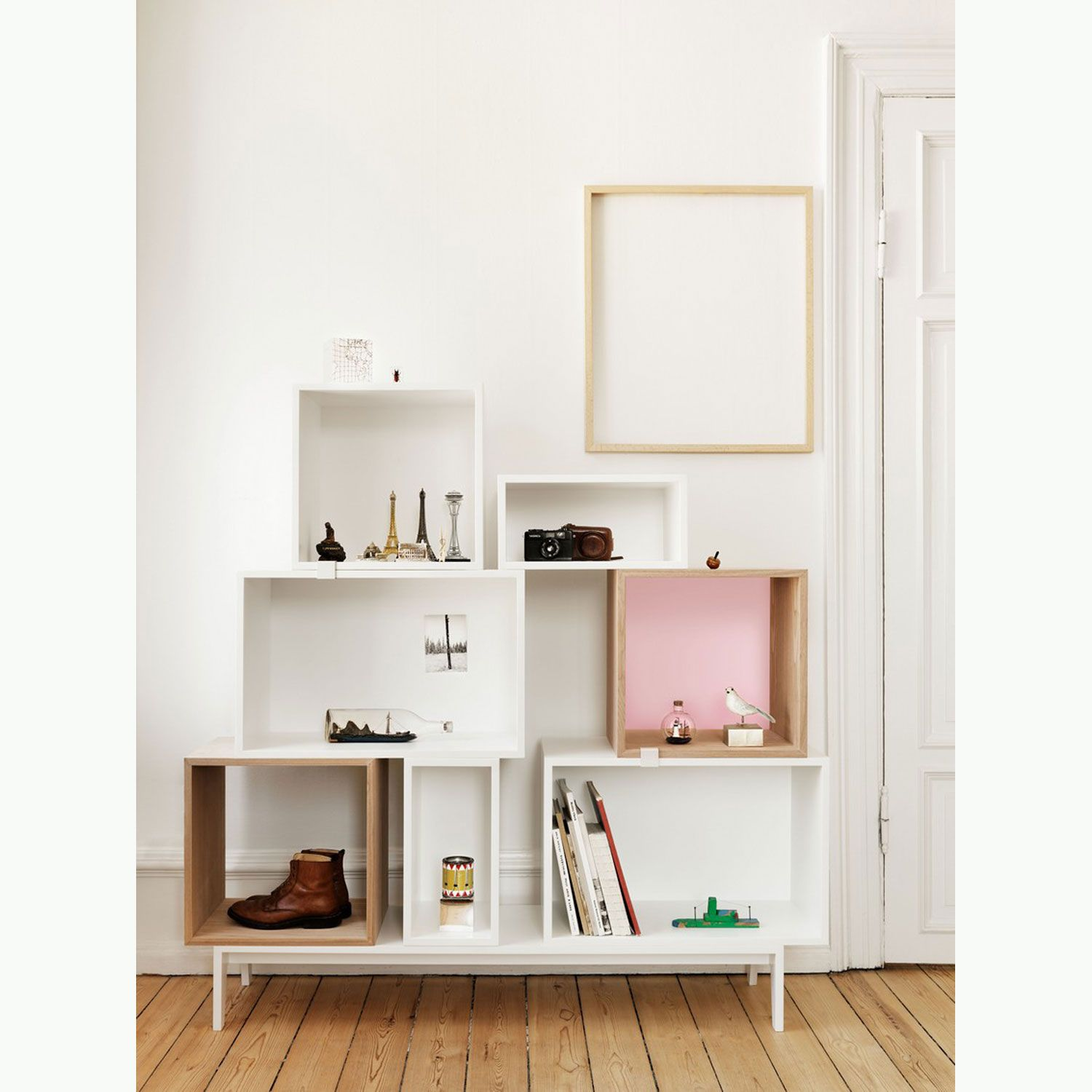 Jds Architects Stacked Shelf System At Muuto (Photographed By Petra