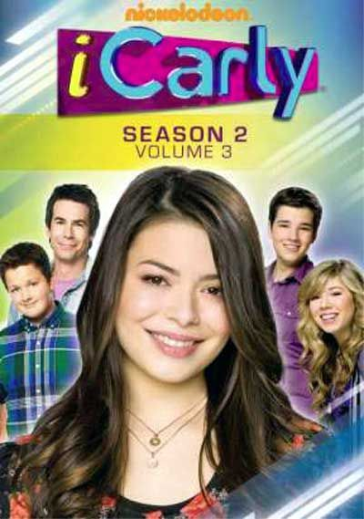 iCarly - Announcement for DVDs of 'Season 2, Vol. 3' to Finish Off the Season