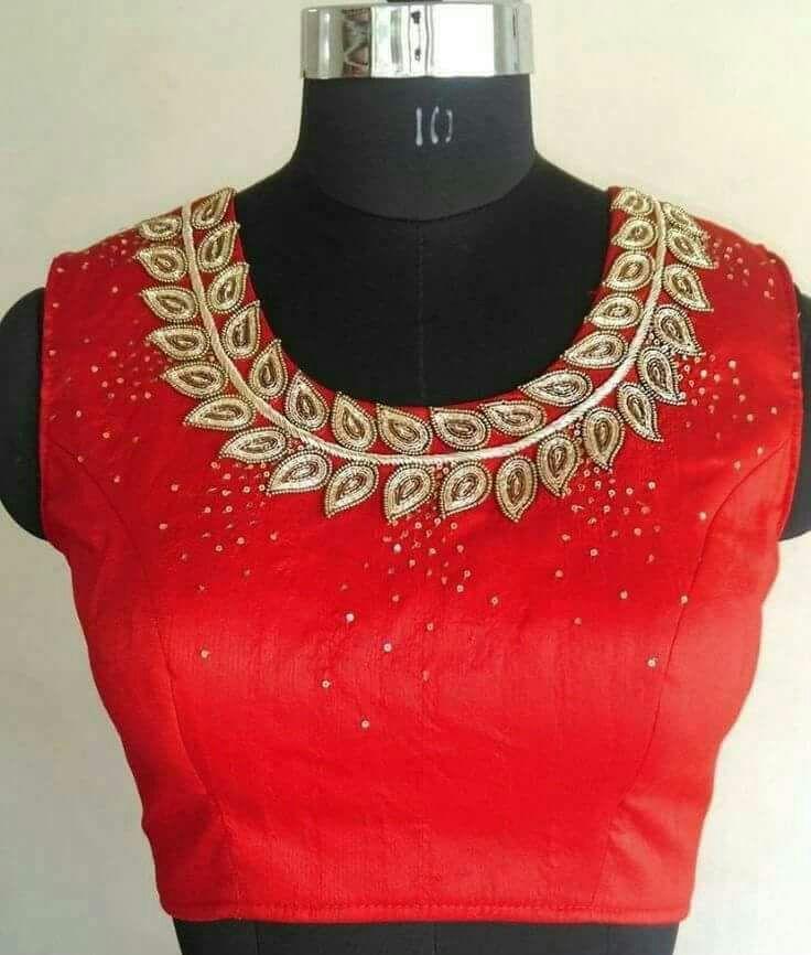 Online maggam work blouse designs also elegant design kurthi ideas pinterest rh in