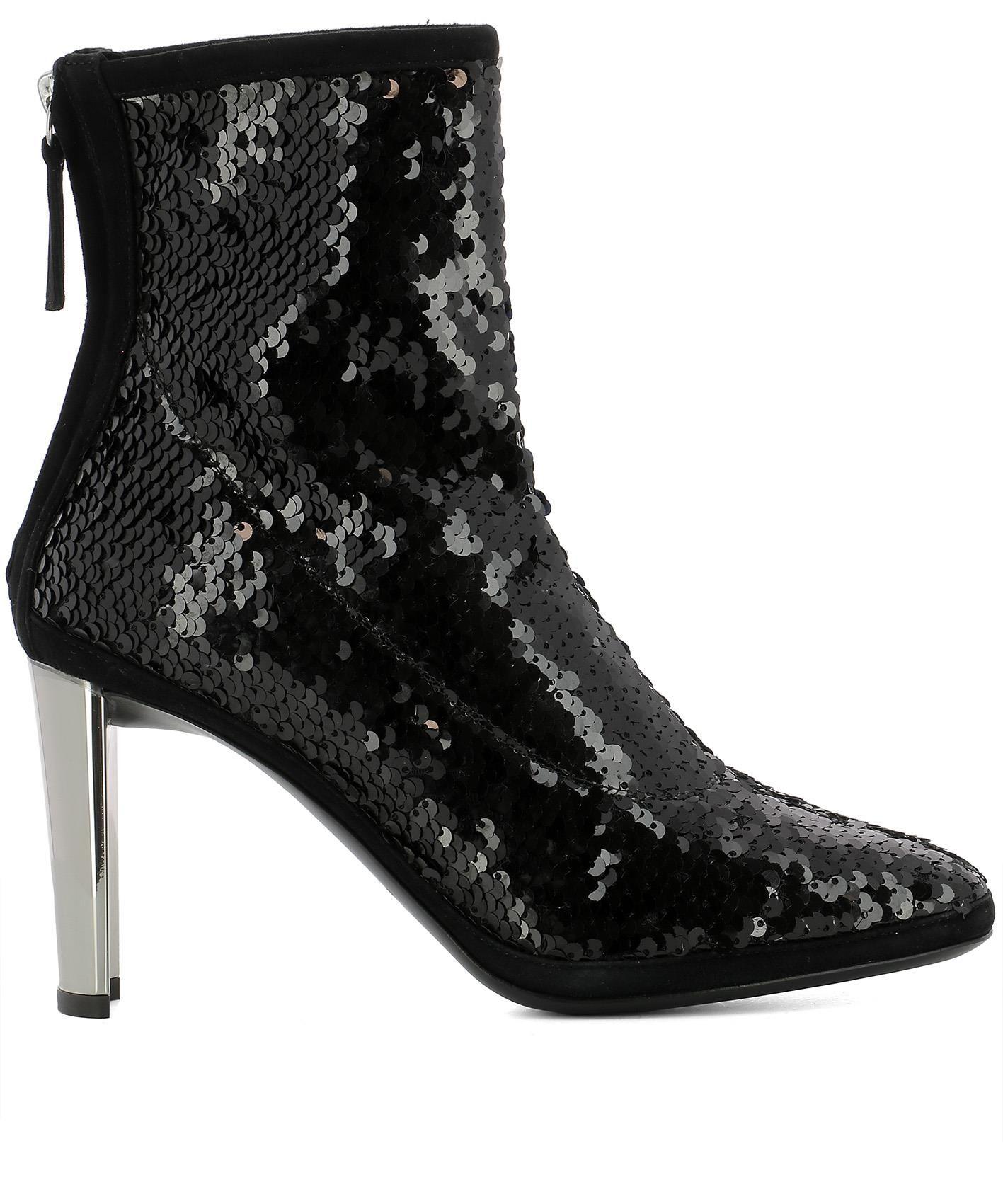 d6f53996160bb GIUSEPPE ZANOTTI GIUSEPPE ZANOTTI DESIGN WOMEN'S BLACK LEATHER ANKLE BOOTS.  #giuseppezanotti #shoes