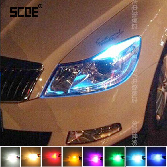 2XT10 LED W5W 자동차 led 오류 무료 자동차 램프 12 볼트 전구 12SMD 스코다 옥타비아 RS 빠른 Fabia 예티 옥타 비아 A5 A7 자동차 스타일링