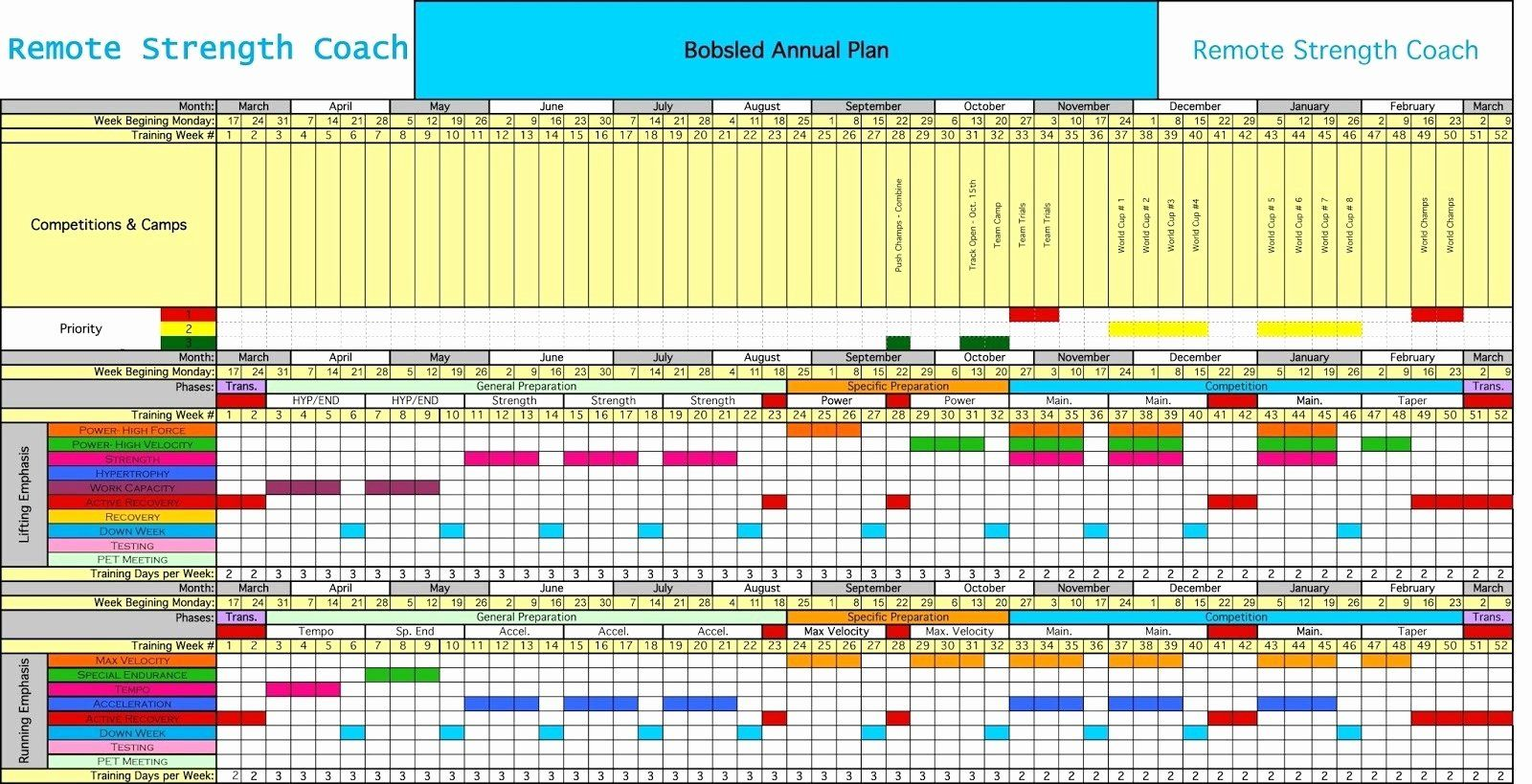 Excel Training Schedule Template Lovely 30 Amazing Employee ...