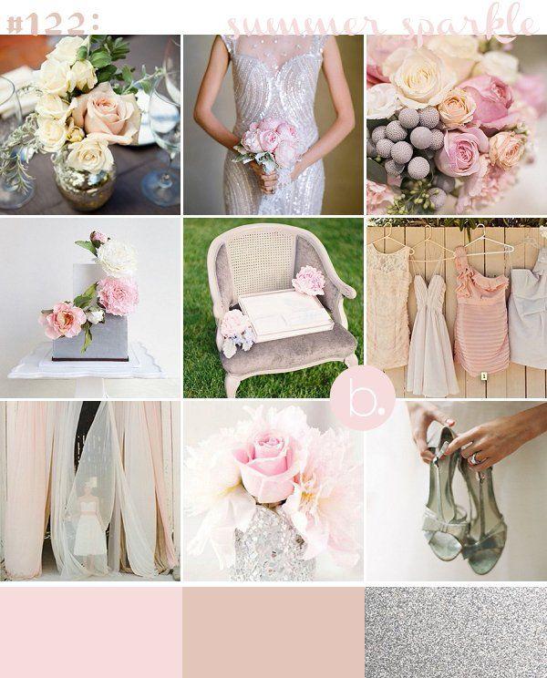 #122: Summer Sparkle wedding color palette!