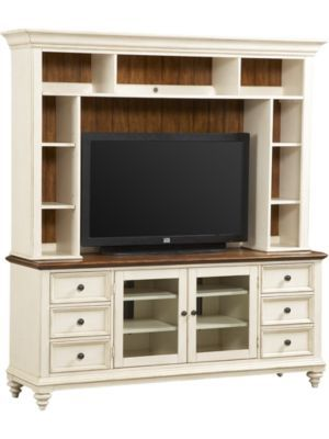 Beau Southpoint  Distressed White (Havertys)