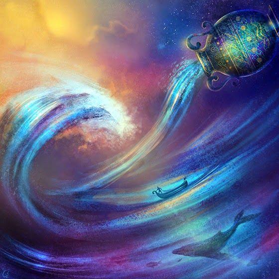 Un espacio para el Alma......: LUNA NUEVA EN ACUARIO y Primer Retrógrado de Mercu...