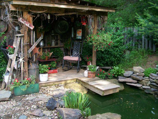 Charming Garden Retreats | Pond, Gardens and Outdoors