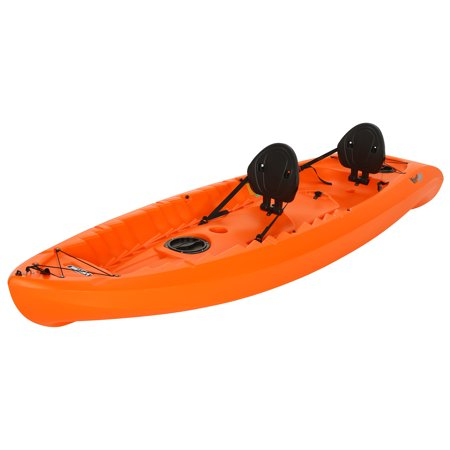 Lifetime Kokanee 106 Tandem Kayak Orange, 90849 Kayaking