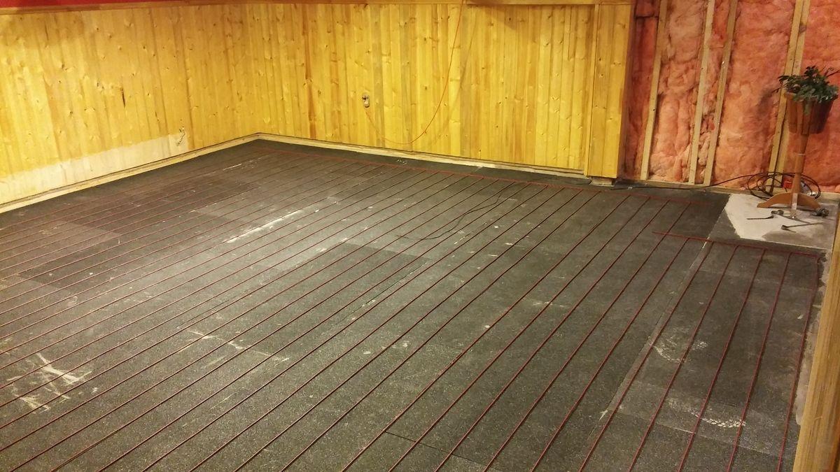 Insulate Electric Floor Heating