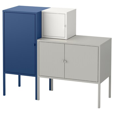 Lixhult Cabinet Metal Gray 23 5 8x13 3 4 In 2020 Ikea Ps Cabinet Ikea Storage