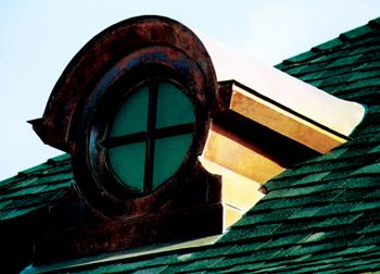 Ornamental Window Dormers Should Have A 1 4 Tempered Glass With Tinting To Prevent Seeing Into Attic Space Or Plywood Decking Dormers The Gables Attic Spaces