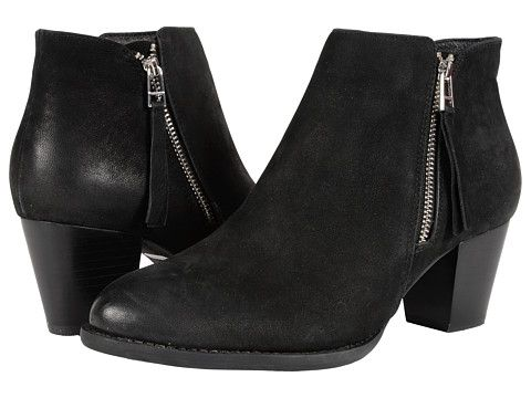 Vionic Upright Sterling Ankle Boot Black, Shoes, Black