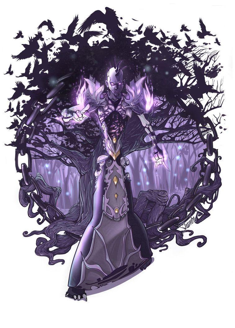 World Of Warcraft The Shadow Priest By Shamba999 On Deviantart Warcraft World Of Warcraft Anime