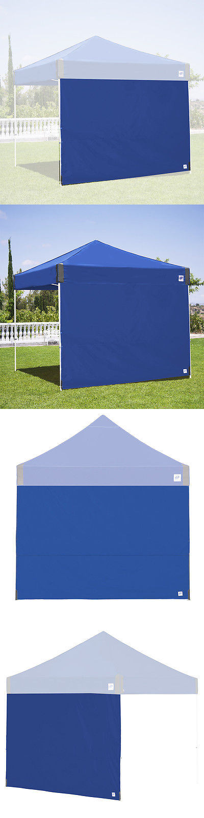 Tent and Canopy Accessories 36120 E-Z Up Sw3rb10slgy 10-Foot Fabric Straight Leg Shelter & Tent and Canopy Accessories 36120: E-Z Up Sw3rb10slgy 10-Foot ...