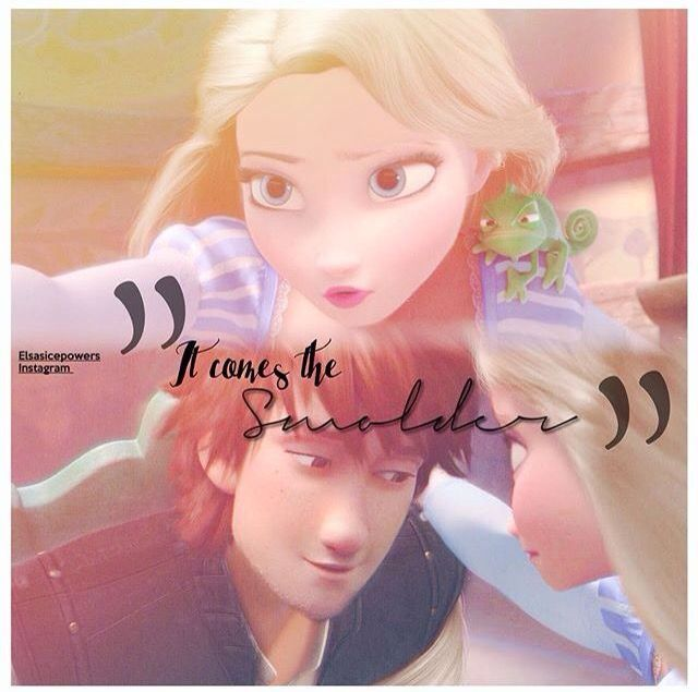 Elsa and hiccup