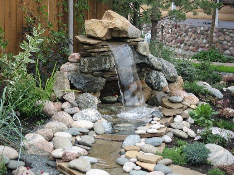 Cascade Bassin De Jardin En 18 Idées De Conception Astucieuses