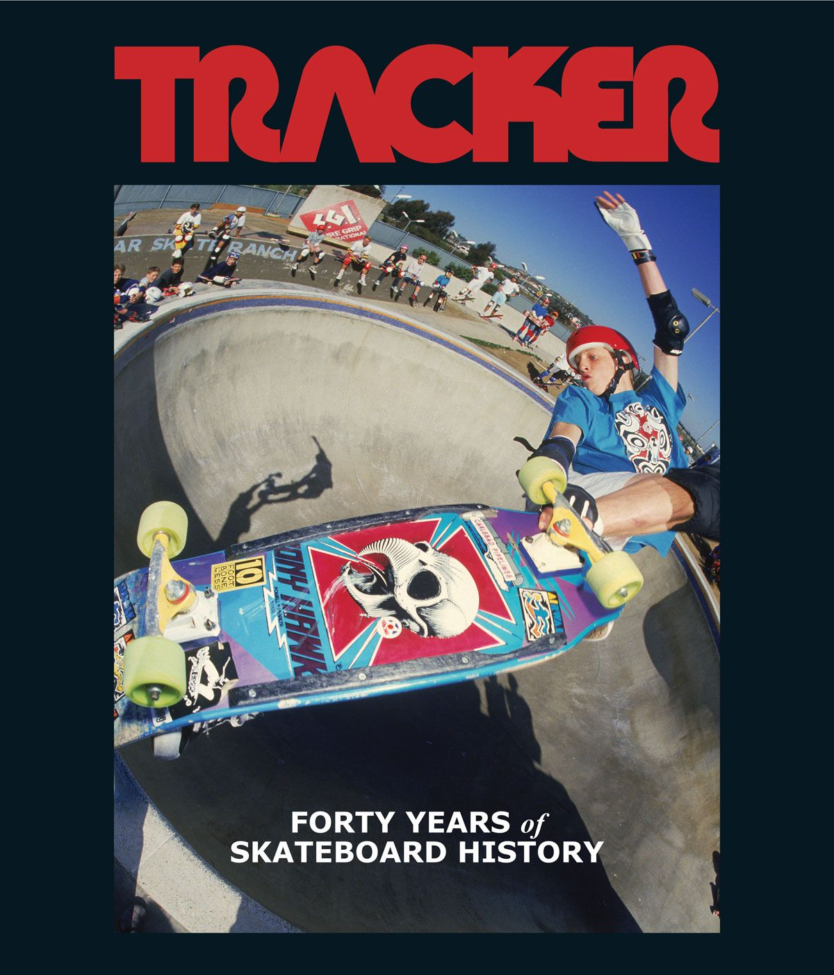 Tracker Trucks Br Forty Years Of Skateboard History Hardcover Book