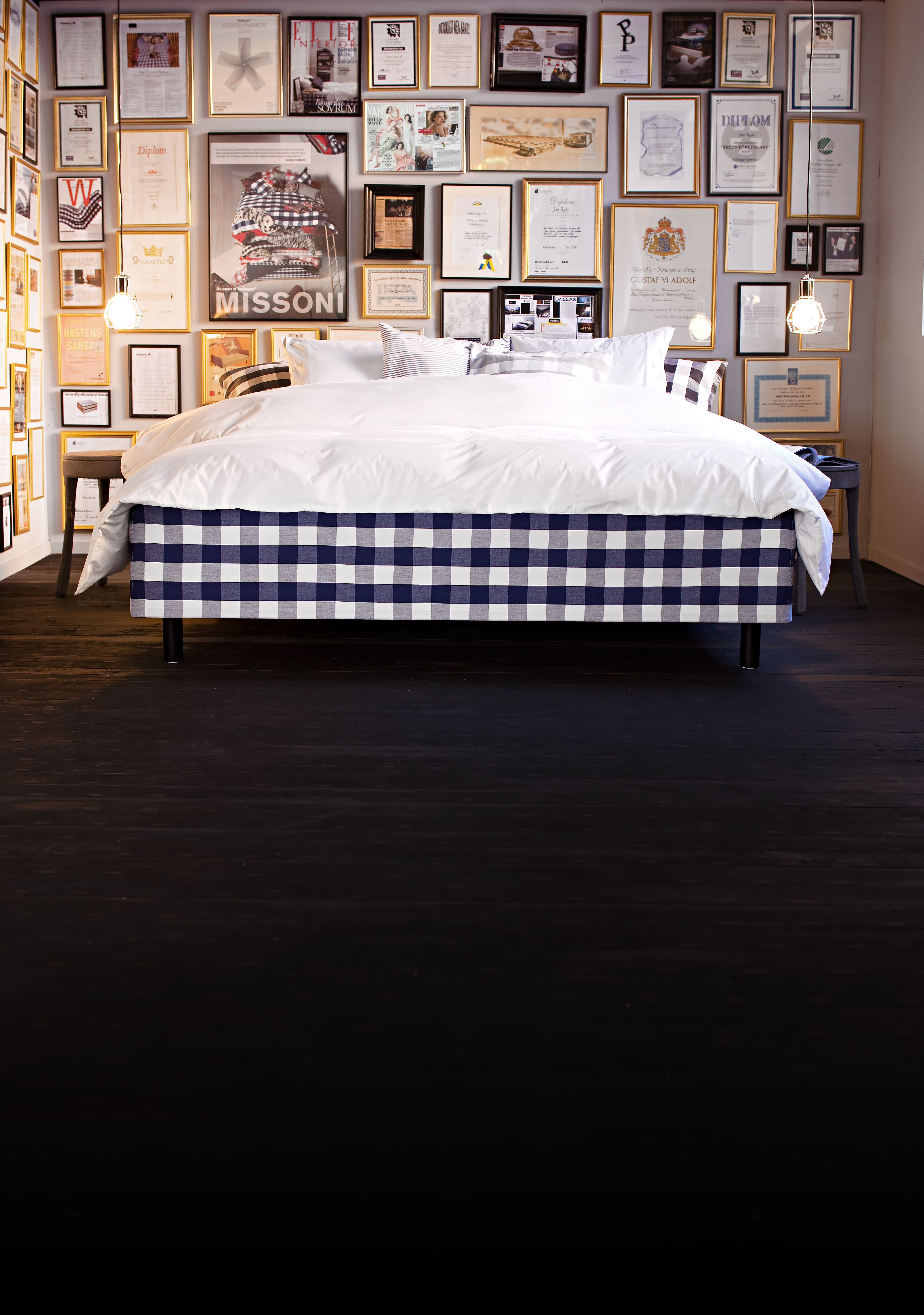 Hastens Best Bed campaign 2011 that makes you feel