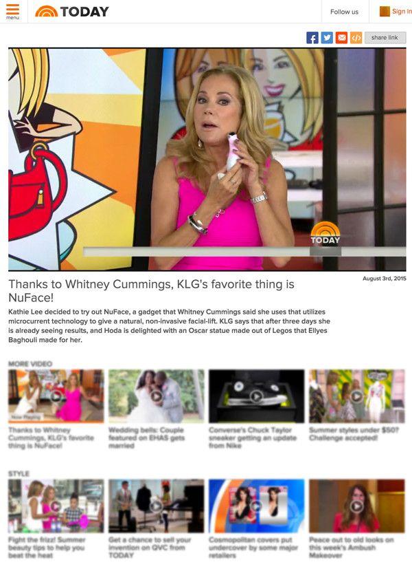 Kathie Lee Gifford S New Favorite Thing Kathie Lee Kathie Lee Gifford Beauty Secrets