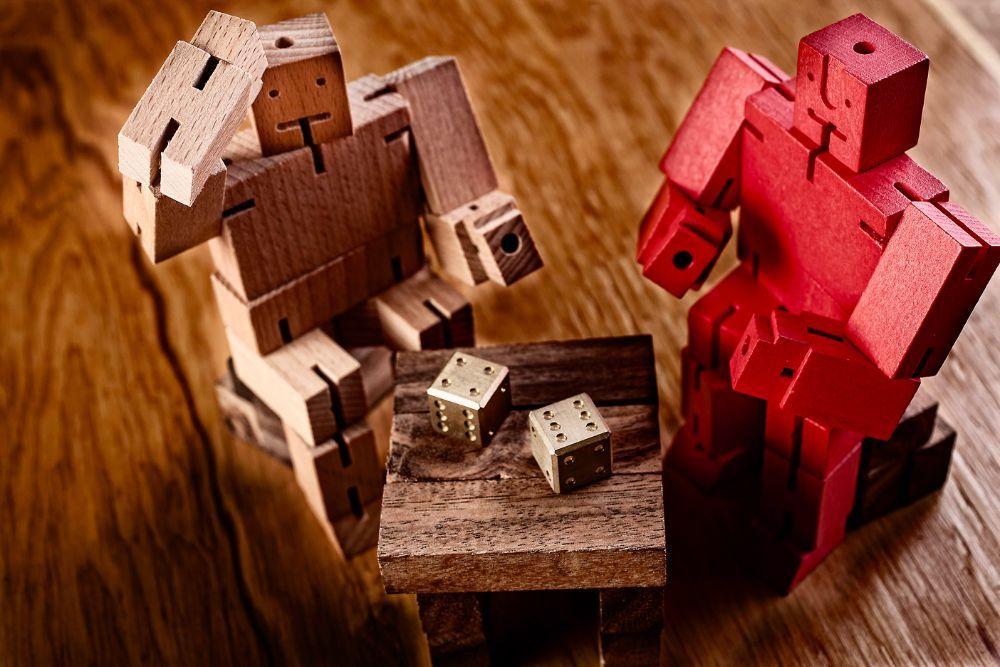 Cubebot Desk Toy