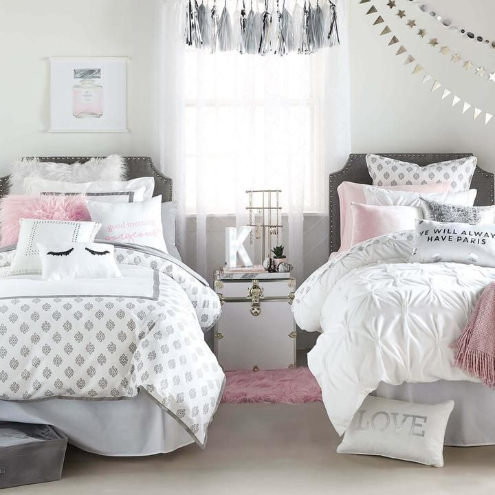 to college twin and pertaining neutral xl purple best bedding cover duvet room for overcast girls comforter pink idea within dorm covers girl design gray