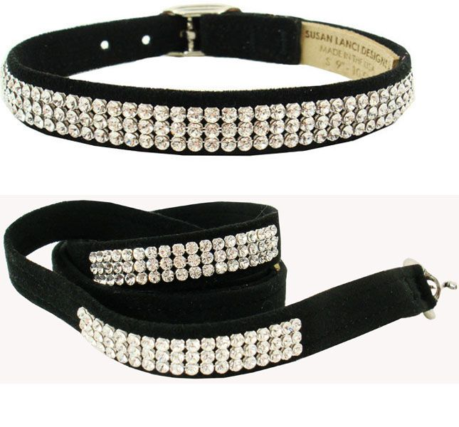 368e456cd29d3 Rhinestone Dog Collars And Leash- Bling, Crystal Lead, Fancy Dog ...